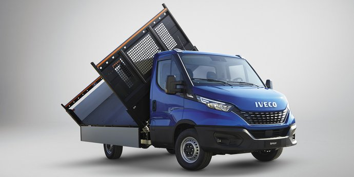 IVECO Daily Fahrgestell mit Kipper
